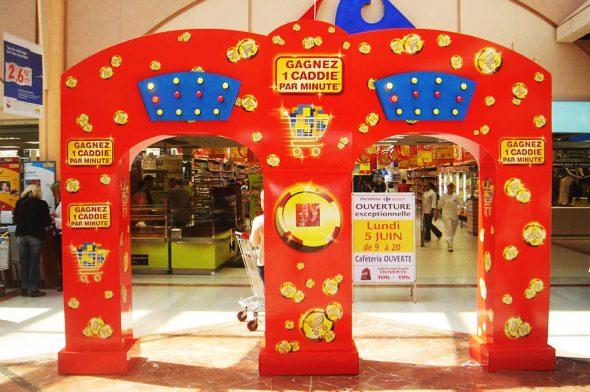 Axia Retail Terminale interaktywne Brama Francja organizacja loterii