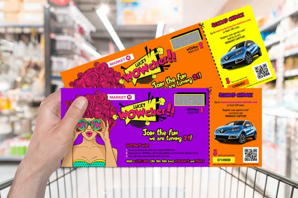 Axia Retail Lucky Voucher organizacja loterii