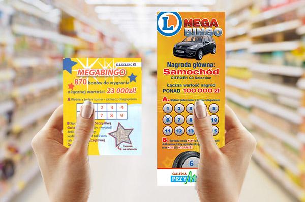 kupon loteryjny lucky voucher organizacja loterii