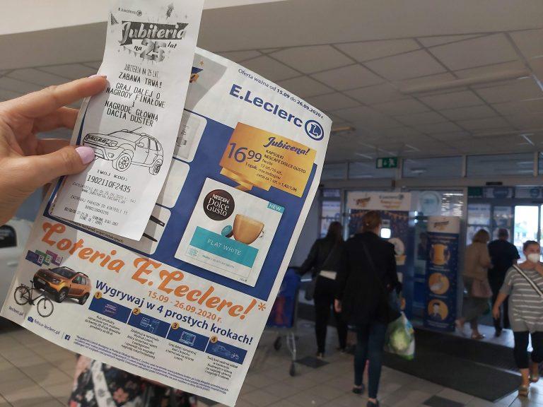 organizacja loterii